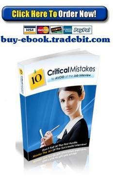 Product picture 10 Critical Mistakes To Avoid At Job Interview