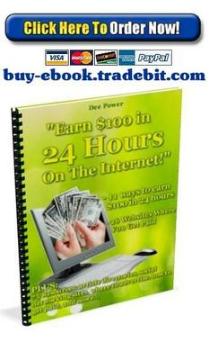 Product picture Earn $100 in 24 hours On The Internet