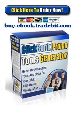 Product picture ClickBank Promo Tools Generator
