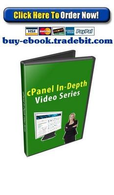 Product picture cPanel In Depth