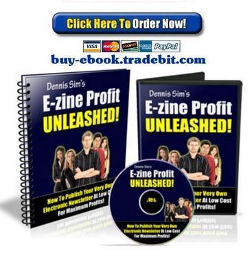 Product picture E-Zine Profit Unleashed