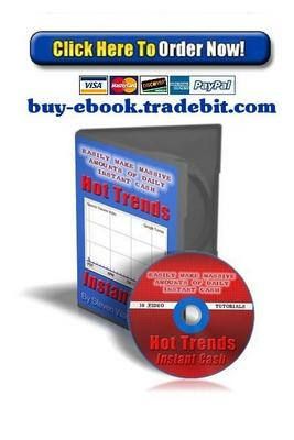 Product picture Hot Trends Instant Cash