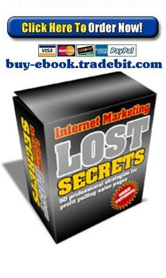 Product picture Internet Marketing Lost Secrets