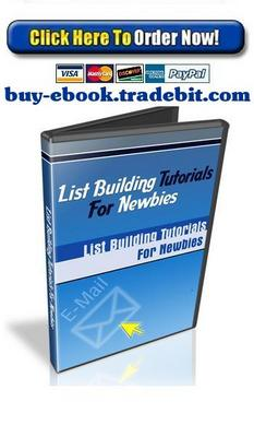 Product picture List Building Tutorials for Newbies