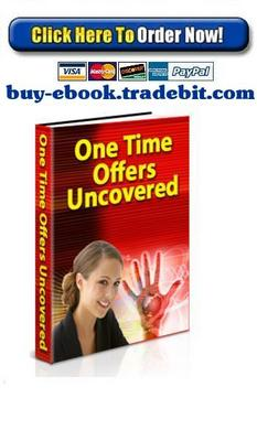 Product picture One Time Offers Uncovered