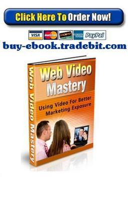 Product picture Web Video Mastery