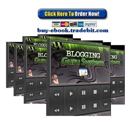 Product picture Blogging Guru System