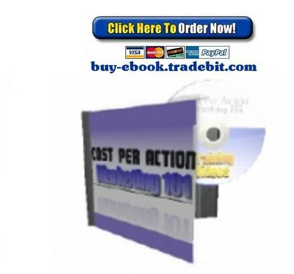 Product picture Cost Per Action Marketing